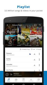 Hungama Music - Songs, Videos apk स्क्रीनशॉट
