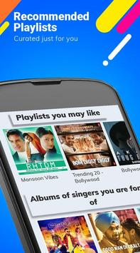 Hungama Music - Songs, Radio & Videos apk تصوير الشاشة