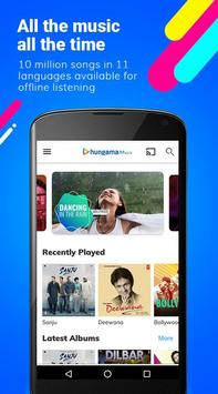 Hungama Music - Songs, Radio & Videos الملصق