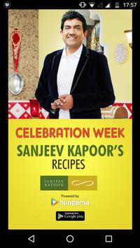 Sanjeev Kapoor's Recipes पोस्टर