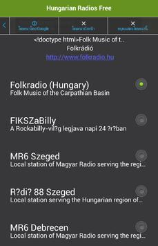 Hungarian Radios Free apk screenshot