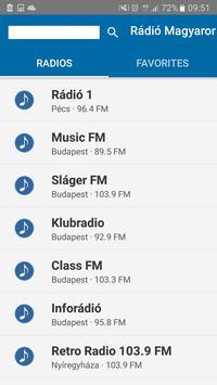 Rádió Magyar    Radio Hungary poster