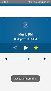 Rádió Magyar    Radio Hungary screenshot 2