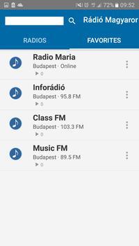 Rádió Magyar    Radio Hungary screenshot 3