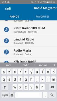 Rádió Magyar    Radio Hungary screenshot 4
