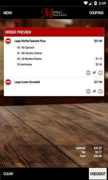 Marina's Pizza & Pasta screenshot 4