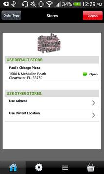 Paul's Chicago Pizza apk screenshot