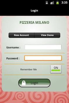 Pizzeria Milano poster