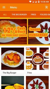 Hunger Twist - Food Ordering App screenshot 1