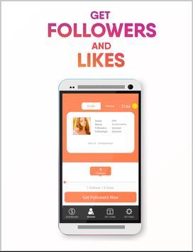 Real Followers Pro + screenshot 1