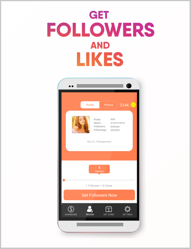 Real Followers For Instagram Apk Mod Unlimited Coins