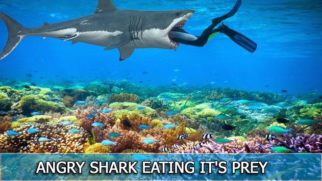 Hungry Wild Shark Sim poster