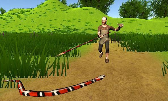 Hungry Anaconda Snake Sim 3D poster