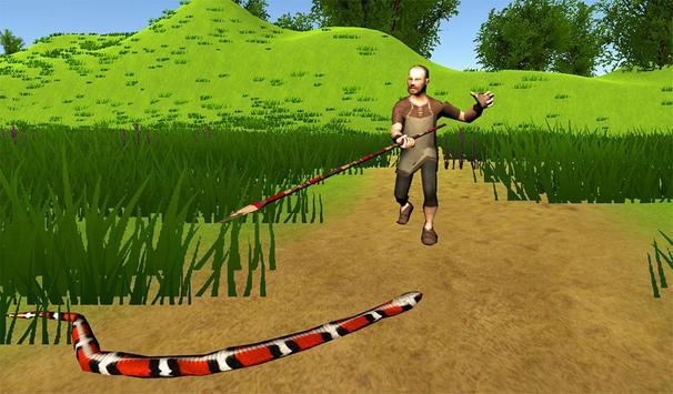 Hungry Anaconda Snake Sim 3D apk screenshot
