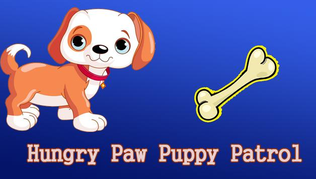 Hungry Paw Puppy Patrol poster