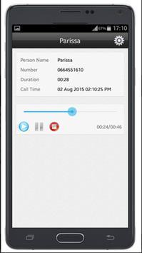 Automatic recorder call screenshot 1