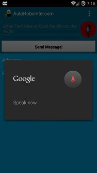 AutoRoboIntercom apk screenshot