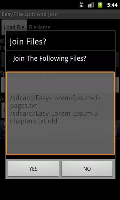 Easy File Split and Join for Android - APK Download