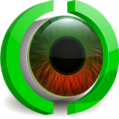 Stunning eyes macro Live WP icon