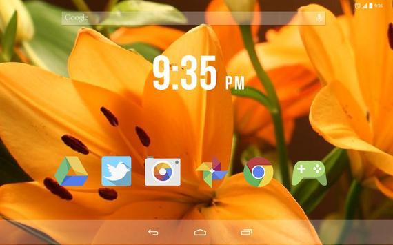 Tiger Lily Live Wallpaper screenshot 4