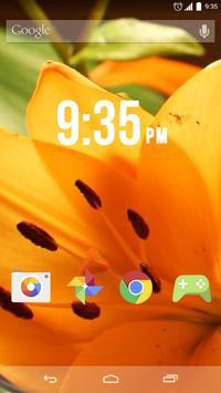 Tiger Lily Live Wallpaper screenshot 1