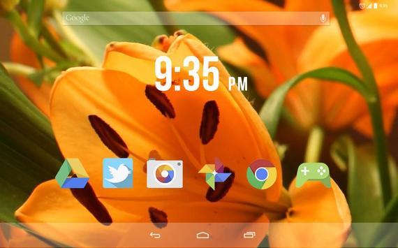 Tiger Lily Live Wallpaper screenshot 3