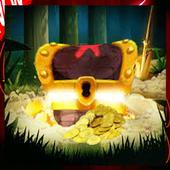 Hunting at the treasure icon