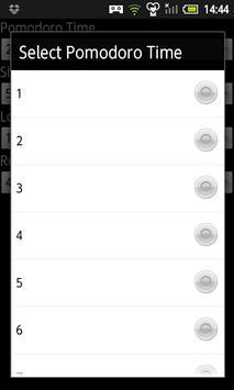 POMODORO SIMPLEST screenshot 2