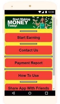 Free Money Rain poster