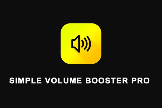 Simple Volume Booster Pro screenshot 1
