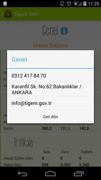 Tigem Veri apk screenshot
