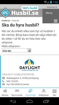 Husbil_se apk screenshot