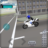 Fast Motorcycle Driver 3D icon