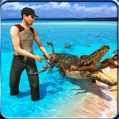 Last Jungle Survival crocodile attack icon
