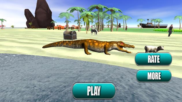 Last Jungle Survival crocodile attack screenshot 2