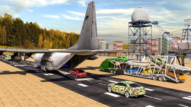 Flight Airplane Transporter Truck Simulator screenshot 4