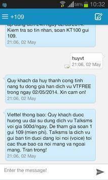 Sliding SMS Pro screenshot 3
