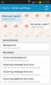 Sliding SMS Pro screenshot 2