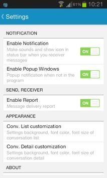 Sliding SMS Pro screenshot 6