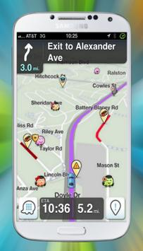 Free Waze GPS Maps & Ttraffic Offline Tips for Android - APK