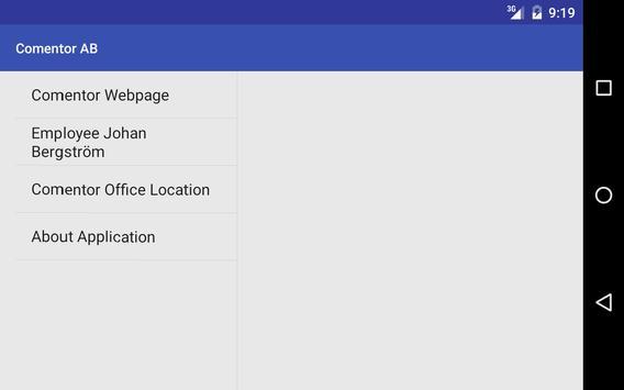Comentor Information apk screenshot