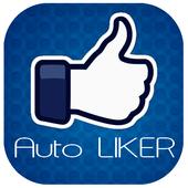 Auto Likes For FB Prank icon