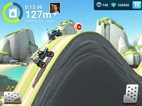 MMX Hill Dash 2 – Offroad Truck, Car & Bike Racing تصوير الشاشة 10