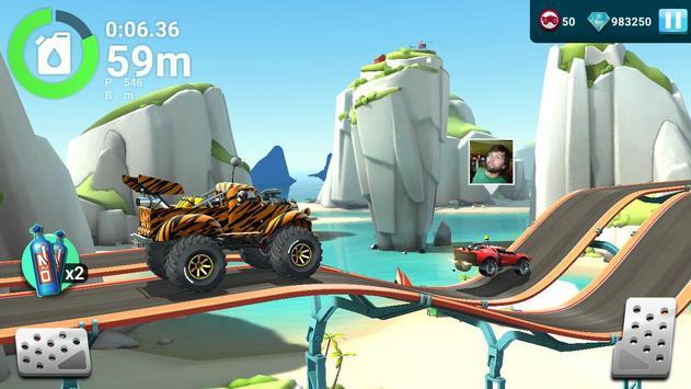 MMX Hill Dash 2 – Offroad Truck, Car & Bike Racing تصوير الشاشة 1