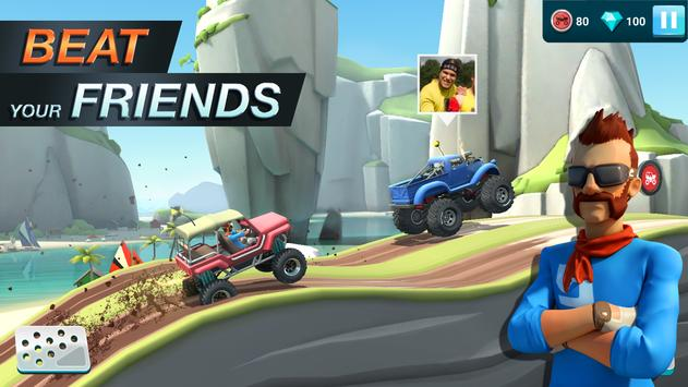 MMX Hill Dash 2 – Offroad Truck, Car & Bike Racing تصوير الشاشة 3