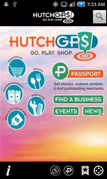 HutchGPS: Go. Play. Shop. poster