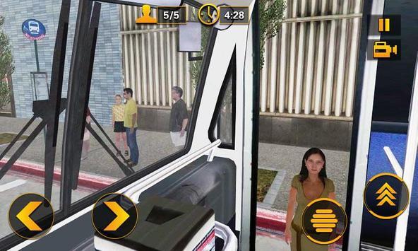 In Bus Driving Simulator poster