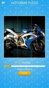 Motorbike Jigsaw Puzzle poster