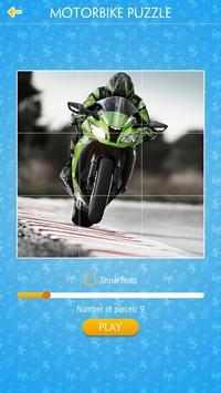 Motorbike Jigsaw Puzzle screenshot 1