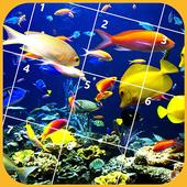 Jigsaw Puzzles - Fish icon
